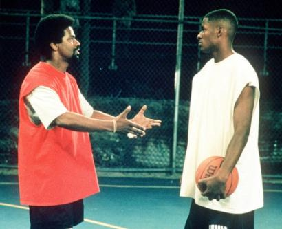 No matter the part he plays, Denzel is always Denzel, but Ray Allen (right) is known as Jesus thanks to 'He Got Game.'