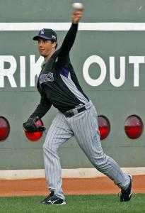 Do you know this man? He's the starting pitcher for Colorado in Game 1 of the World Series. Give up? It's Jeff Francis.