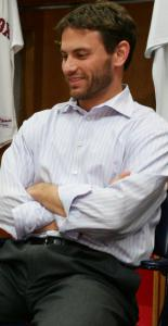 Assistant GM Jed Hoyer briefly was co-GM in the winter of 2005.
