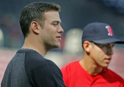 GM Theo Epstein and his front office team have found the right balance of veteran free agent additions and blossoming stars like Jacoby Ellsbury (right).