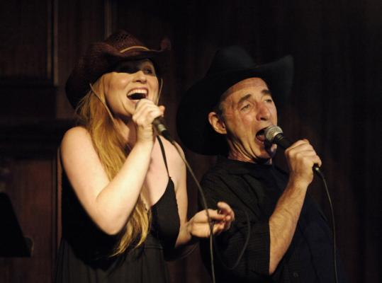 Harry Shearer and his wife, singer-songwriter Judith Owen, conceived their satirical revue, 'This Is So Not About the Simpsons: American Voyeurs,' for the Edinburgh Fringe Festival.