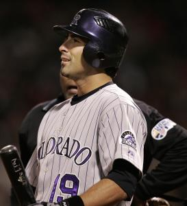 Rockies DH Ryan Spilborghs could look for answers - but they were not to be found inside Fenway.