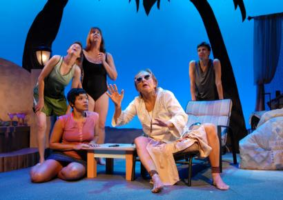 The friendships and relationships in 'Oedipus at Palm Springs' carry the Greek myth into the present day.
