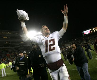 BC's Matt Ryan thrust himself into the spotlight as one of the Heisman Trophy favorites with his late heroics against Virginia Tech.