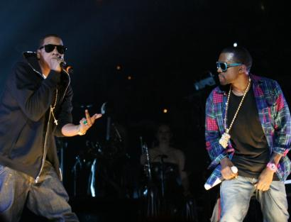 Jay Z And Kanye West Performed Together Last Night At The JAMu0027N 94.5