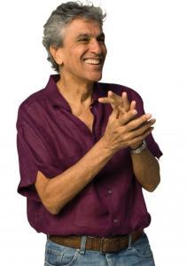 Caetano Veloso helped forge the Brazilian multi-arts movement Tropicalismo in the late 1960s.