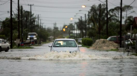 Hurricane Noel reportedly dumped a record amount of rain on the Bahamas. Dozens of streets were flooded.