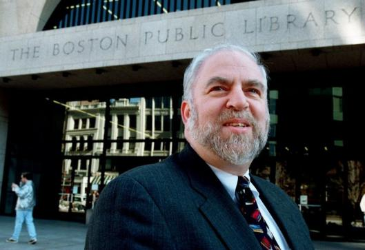 Bernard A. Margolis, president of the Boston Public Library, is one of the highest-paid city employees. Margolis and Mayor Thomas M. Menino have clashed over funding and expansions at branch libraries.