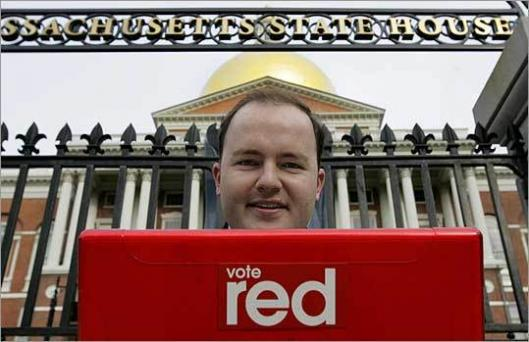 Rob Willington is trying to rebuild the state Republican Party.