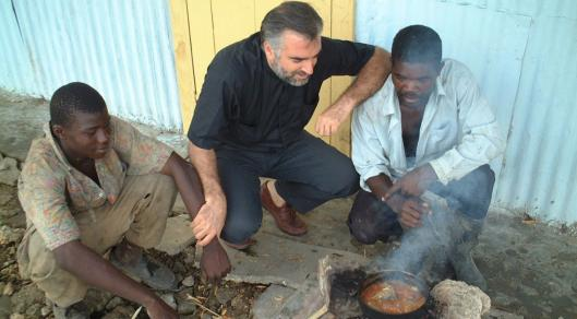 'Sugar' follows Father Christopher Hartley as he tries to help Haitian laborers in the Dominican Republic.