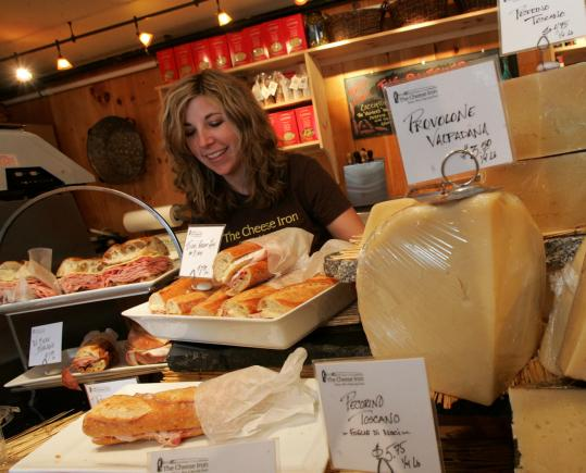 Jill Dutton owns The Cheese Iron in Scarborough, with her husband and fellow cheese monger, Vincent Maniaci.