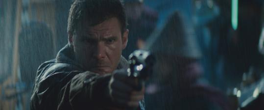 Harrison Ford in 'Blade Runner,' an enduring influence 25 years after its initial release.