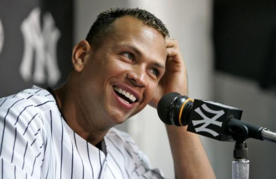 Under his new Yankee contract, Alex Rodriguez can cash in to the tune of millions if he sets the career home run record.