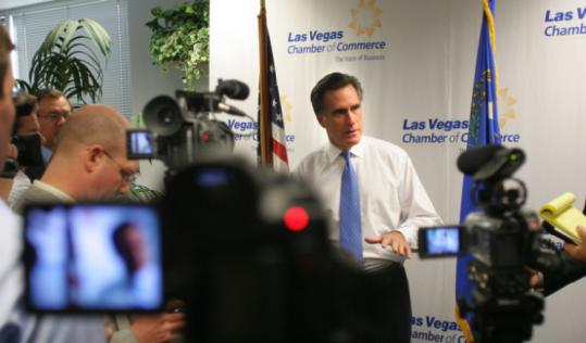 On the campaign trail in Las Vegas yesterday, Mitt Romney called the attacks on him based on his faith un-American.