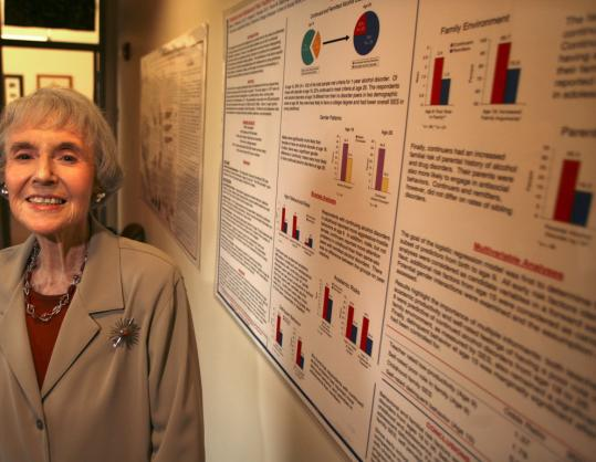 Helen Reinherz heads a 30-year-long study that has followed 400 people since kindergarten.