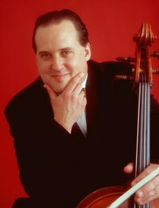 Cellist Ronald Thomas is also Boston Chamber Music Society's artistic director.
