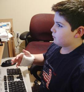 Max Wallack, 11, of Natick, Mass., used Bubble Wrap to create wrist cushions for carpal tunnel syndrome sufferers.