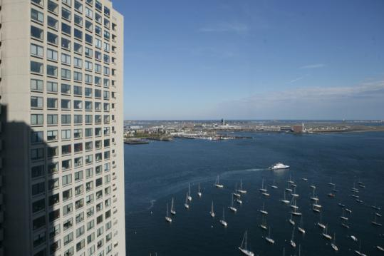 Unit owners at the twin 40-story Harbor Towers condos were assessed $70,000 to $400,000 or more each for work on the buildings' systems.