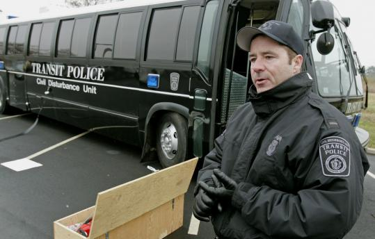 MBTA unit with big, bad bus has seen little action - The ...