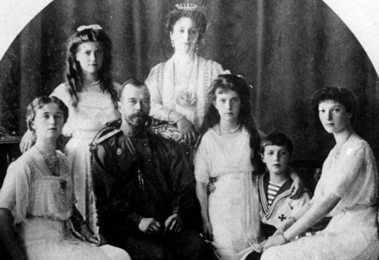The bodies of Czar Nicholas II, Czarina Alexandra, and their children were mutilated, burned, and doused with acid by their killers to mask the Romanov family's origins.