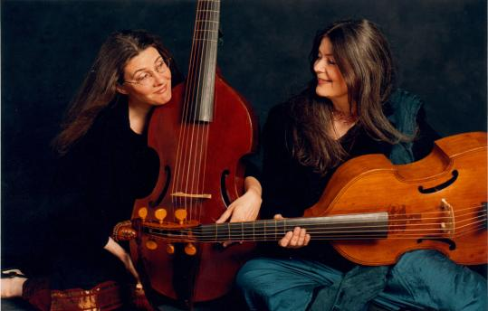 Margaret Little (left) and Susie Napper are the core of Les Voix Humaines.