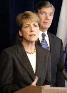 Attorney General Martha Coakley and Paul F. Ware Jr., special prosecutor.