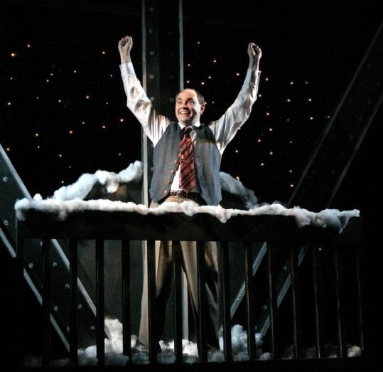 A Touching Turn Onstage In One Man 39 This Wonderful Life 39 The Boston Globe