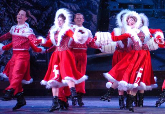 Polished production numbers enrich 'Irving Berlin's White Christmas,' at the Wang Theatre.