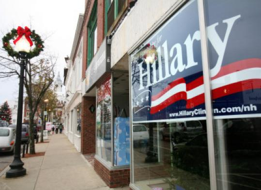 Hillary Clinton's campaign office in Rochester remained closed.