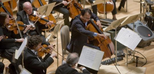 Last night, Yo-Yo Ma and the Boston Symphony Orchestra revisited Osvaldo Golijov's work.