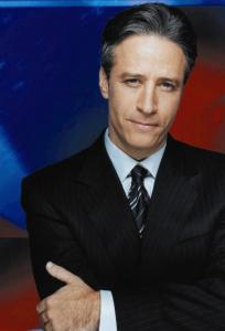 The writers' strike has silenced the satire of Jon Stewart's 'Daily Show' and others.