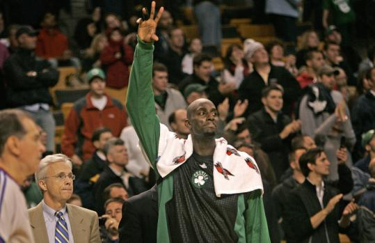 With wins this week against the lowly Kings and Bucks, Kevin Garnett's Celtics would tie the franchise record for best home start (12-0).