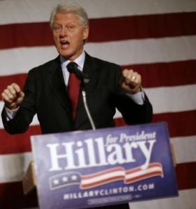 Bill Clinton said that Hillary had wanted the United States to intervene in Rwanda.