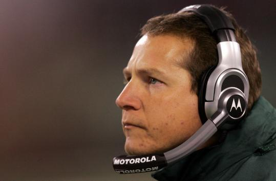 Jets coach Eric Mangini led the NFL to the Patriots' illegal activities, but he has led his own team to just a 3-10 record.