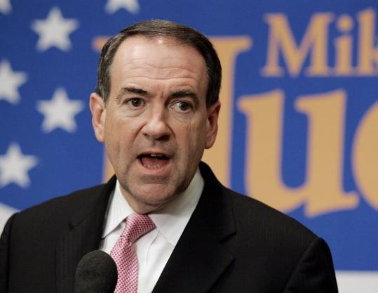 While Mike Huckabee has climbed to the top of the polls in Iowa, he is in fourth place in several polls in New Hampshire. New Hampshire legalized civil unions last May.