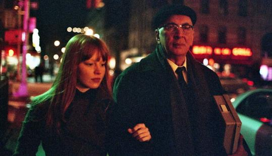 Lauren Ambrose plays an ambitious grad student and Frank Langella the writer she hero-worships in 'Starting Out in the Evening.'