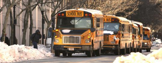 About 70 drivers called in sick or took a personal day, stranding more than 680 students.