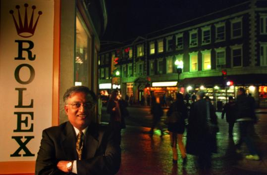 Raman Handa opened his first jewelry store in Harvard Square in 1980.