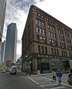 A committee of the Boston Society of Architects fears the historic Dainty Dot building could become a casualty of overdevelopment on the edge of Chinatown.