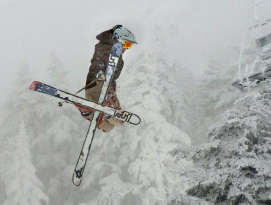 Taking a flying leap like this has made Killington ski area in Vermont the Beast of the East.