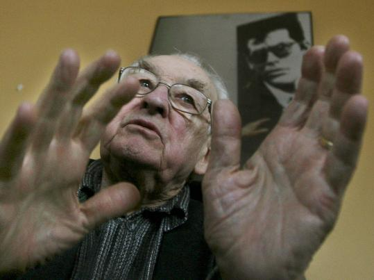 Andrzej Wajda discusses his film about the nearly 22,000 Polish soldiers and citizens killed by order of Josef Stalin.