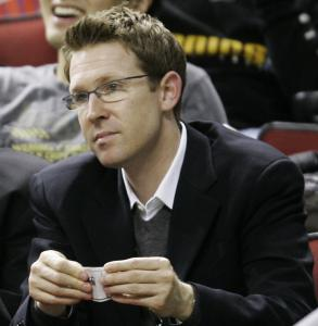 New England native and SuperSonics general manager Sam Presti is focused on making his team an NBA power.