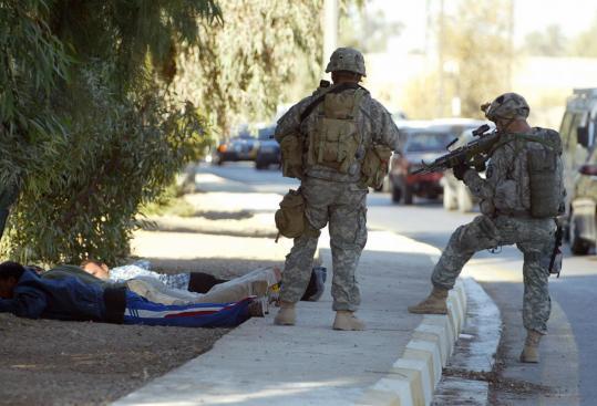 At least 14 die in Baghdad car bombing - The Boston Globe