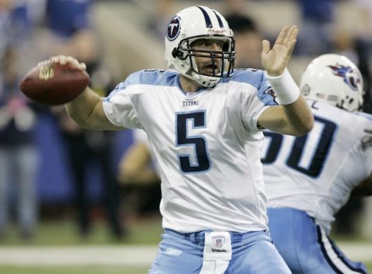 Kerry Collins got the call when Vince Young got hurt, then rallied the Titans into the playoffs.