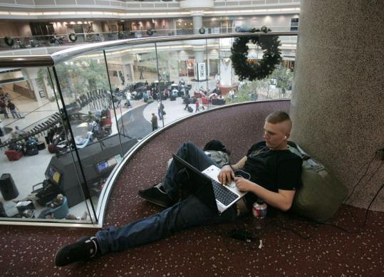 With more than 41 million fliers a year, Hartsfield-Jackson Atlanta International Airport offers very few quiet spots.