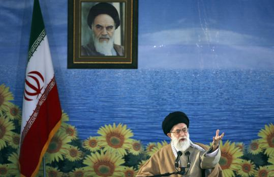 Ayatollah Ali Khamenei, who spoke yesterday to students in the central Iranian city of Yazd, said said renewing US diplomatic ties at this time is not advisable for his country.