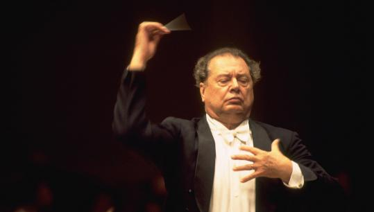 Rafael Frühbeck de Burgos conducted the BSO last night in two Strauss tone poems - 'Don Juan' and 'Till Eulenspiegel's Merry Pranks' - and Mussorgsky's 'Pictures at an Exhibition.'