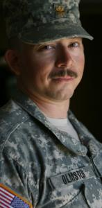 US Army Major Andrew Olmsted, 37, of Colorado Springs, Colo., was killed Thursday in As Sadiyah, Iraq.