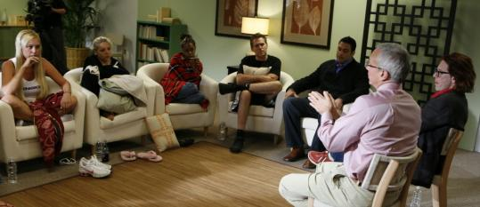 The D-Listers of 'Celebrity Rehab' at the Pasadena Recovery Center, where radio host Dr. Drew Pinsky aims to lead them out of addiction.