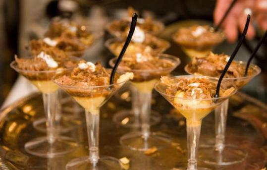 Bring your appetite: Good things come in small glasses at the New Orleans Wine and Food Experience.